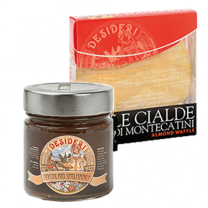 cialde di Montecatini – prodotto tipico Toscano con cioccolata